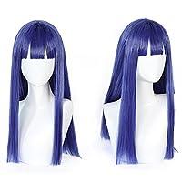 耐熱コスプレウィッグ 二番目の城 POP TEAM EPIC ポプテピピック ピピ美 パーティー 変装 wig +おまけ2点