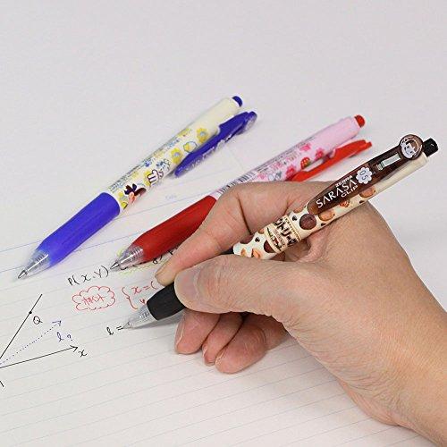 ゼブラ ジェルボールペン サラサクリップ 不二家 0.5 4色A JJ29-FJ-4C-A