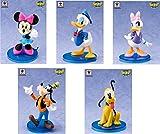 ディズニーキャラクターズ ワールドコレクタブルフィギュアstory05「ミッキー&フレンズ」全5種セット