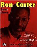 Ron Carter Bass Lines volume 15: RON CARTER BASS LINE VOLUME 15