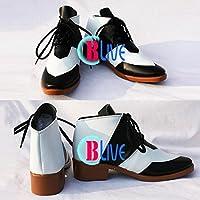 ●●サイズ選択可●●I0374ZCI コスプレ靴 ブーツ TIGER & BUNNY 鏑木・T・虎徹 男性26CM