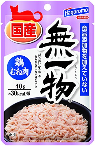 はごろも 無一物パウチ 鶏むね肉 (国産) 40g×12個 (まとめ買い)