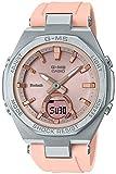 [カシオ] 腕時計 ベビージー G-MS Bluetooth ソーラー MSG-B100-4AJF レディース ピンク