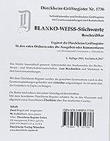 BLANKO WEISS-GROSS Duerckheim-Griffregister Beschreibbar Nr. 1736: 96 weisse, beschreibbare Markieraufkleber zur Befestigung an Trennblaettern oder Buchseiten. Passend zu Duerckheim-Markierungen mit Stichworten.