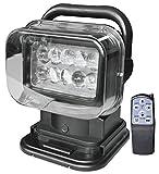 ★リモコン式 LED サーチライト 50w 12v用 360度首振り可能 LED作業灯 サーチライト led 照明◆1年保証