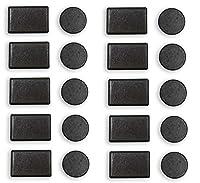 20Pieceセット冷蔵庫の磁石でラウンドとの長方形シェイプCrafts : mc6050–20-yx