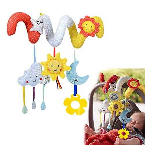 HELLOSUN ベビーカー用おもちゃ かわいい 赤ちゃん ...