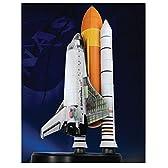 プラッツ 1/144 スペースドラゴンウイングス スペースシャトル・アトランティス w/ロケットブースター (内部再現) プラモデル