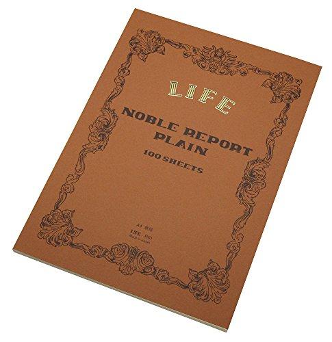ライフ ノーブル レポート 無地 A4 R61