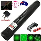 LS Military High Power Green/Red Laser Pointer - Multi Function Tactical Interactive Flashlight Toy for Dogs Cats Kids Adults, Business and Class Presentations, Outdoor Lighter (Green Beam)