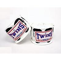 TWINS(ツインズ) バンテージ ホワイト スカル 伸縮タイプ 2個1セット ムエイタイ ボクシング MMA 格闘技 グローブ
