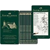 Faber-Castell graphite pencils Faber-Castell 9000 Graphite Pencil Art Set 12 Pack, (10-119065)