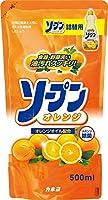 カネヨ石鹸ソープンオレンジ 詰替500ml