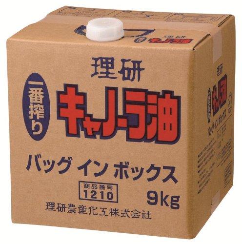 一番搾りキャノーラ油 BIB 9Kg