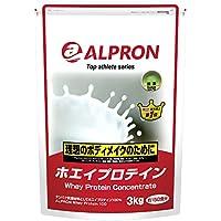 アルプロン -ALPRON- ホエイプロテイン 抹茶風味 3kg アルプロン