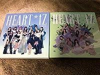 IZ*ONE IZONE アイズワン 2nd Album CD Heart IZ Violeta ver.+Sapphire ver. クリアスリーブ カバー フォトブック 2枚セット 全員集合