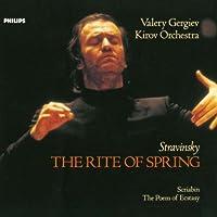 ストラヴィンスキー:春の祭典、スクリャービン:法悦の詩