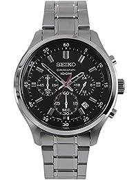 【セイコー】SEIKO Chronograph Mens Watch クロノグラフ Black SKS587P1 【並行輸入品】