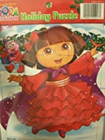 Dora the Explorer Holiday Puzzle Dora and Boots at Christmas