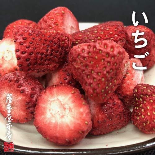 国産乾燥果実シリーズ 乾燥いちご 90g 国産原料100% 〜ニューフリーズドライ製法(特許取得)〜