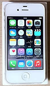iPhone4S ホワイト (白) SIMフリー 32GB 海外正規品 SIM UNLOCKED free