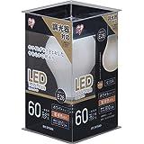 アイリスオーヤマ LED電球 フィラメント 口金直径26mm 60W形相当 電球色 全配光タイプ 調光器対応 乳白 LDA7L-G/D-FW