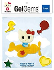 カメヤマキャンドルハウス ジェルジェムハローキティバッグS play set products×キティ ヒコウキ GelGems