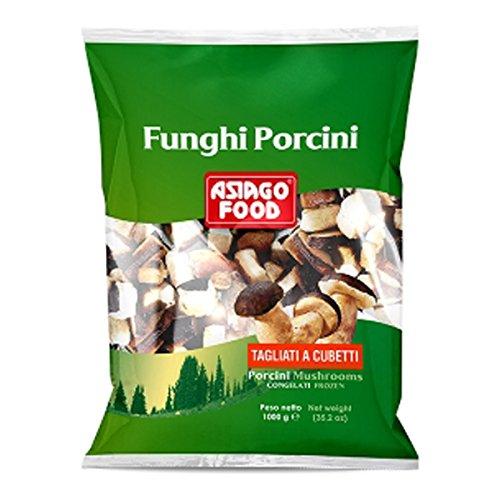 【冷凍】 イタリア 冷凍ポルチーニ茸 キューブカット 1kg アシアーゴ社 ASIAGO FOODS PORCINI CUBE CUT