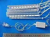 流れるLED ぶら下げるイルミネーションLEDディスプレイ8本 LEDライト