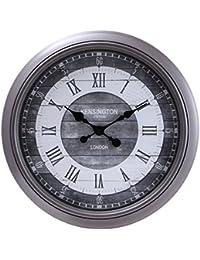 不二貿易(Fujiboeki) 掛け時計 シルバー 直径55.6cm アリオト 27211