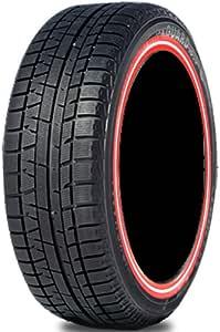 ヨコハマ iceGUARD 5 IG50 225/60R16 スタッドレス カスタムプリント赤白赤ライン 4本セット