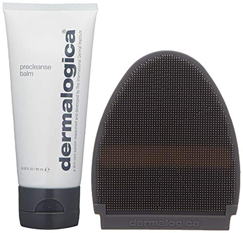 ギャングスター悩む機械ダーマロジカ Precleanse Balm (with Cleansing Mitt) - For Normal to Dry Skin 90ml/3oz並行輸入品