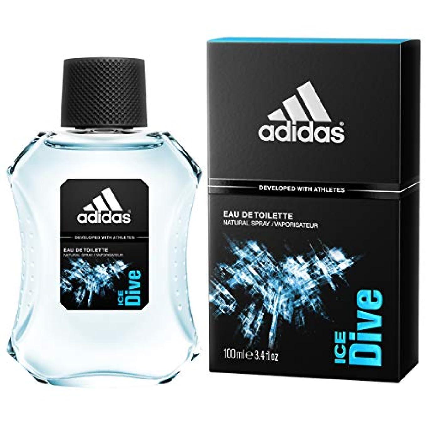 嫌い勝利した農場adidas(アディダス) アディダス アイス ダイブ EDT 100ml(並行輸入品) シトラス?グリーン?ノート