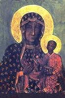 Our Lady of CzestochowaブラックVirgin Maryアイコンポスター 8x10