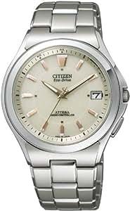 [シチズン]CITIZEN 腕時計 ATTESA アテッサ Eco-Drive エコ・ドライブ 電波時計 ATD53-2843 メンズ