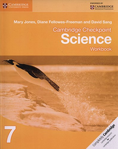 Cambridge Checkpoint Science Workbook 7 [Paperback] [Apr 18, 2012]