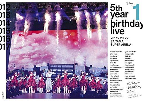 5th YEAR BIRTHDAY LIVE 2017.2.20-22 SAITAMA SUPER ARENA Day1 (DVD)