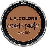L.A. COLORS Cream To Powder Foundation - Medium Beige (並行輸入品)