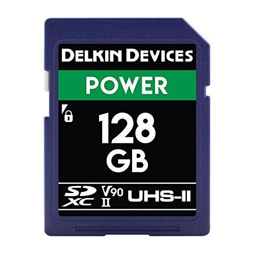 Delkin 128GB Power SDHC 2000X UHS-II (U3/V90) SDカード DDSDG2000128