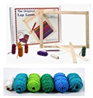 Harrisville Designs Lap Loom A with Additional Yarn Refill Pack (Ocean Theme) [並行輸入品]