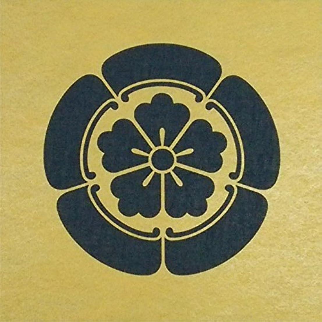 フォルダ選ぶ生ステンシルシート 織田瓜 家紋 3サイズ型紙  (10cm)