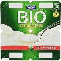 [冷蔵] ダノンビオ プレーン・砂糖不使用 75g 4個