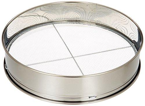 セフティー3 ステンレス枠 土フルイ 円形 直径30cm 網3種類付き