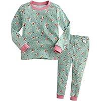 [Vaenait Baby]キッズ 子供 ベビー ガールズ 女の子 服 綿100% ルームウェア 長袖 パジャマ 寝間着 上下セット