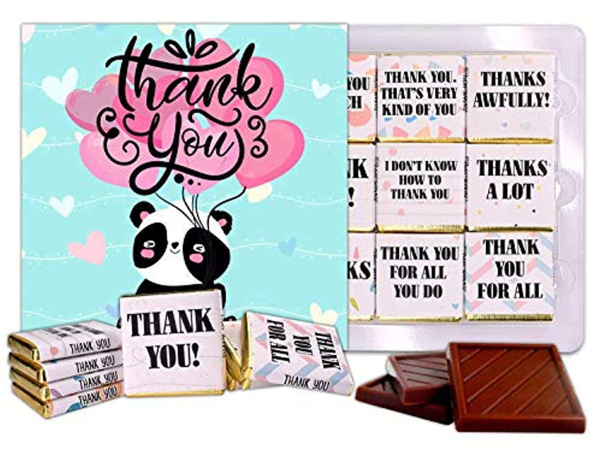 野心なのでヨーロッパDA CHOCOLATE キャンディ スーベニア  ありがとうございました THANK YOU チョコレートセット 5×5一箱 (Hearts)