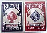 BICYCLE(バイスクル) RACER BACK(レーサーバック) GOLD EDGES(ゴールドエッジ) トランプ 赤/青 2デック