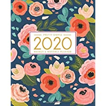 2020 Planner Weekly and Monthly: Jan 1, 2020 to Dec 31, 2020: Weekly & Monthly Planner + Calendar Views | Inspirational Quotes and Navy Floral Cover | ... December 2020 (2020 Pretty Simple Planners)
