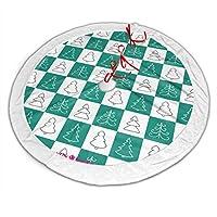 グリーンクリスマスツリー クリスマスツリースカート おしゃれ 円形 ツリースカート クリスマスツリー デコレーション 屋内 屋外 雰囲気 クリスマスパーティー 飾り 豪華 クリスマス プレゼント