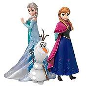 フィギュアーツZERO アナと雪の女王 Frozen Special Box 3体セット アナ 約145mm エルサ 約150mm オラフ 約80mm 専用台座シート PVC製 塗装済み完成品フィギュ