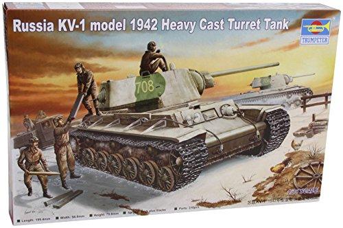 1/35 ソビエト軍 KV-1重戦車 1942
